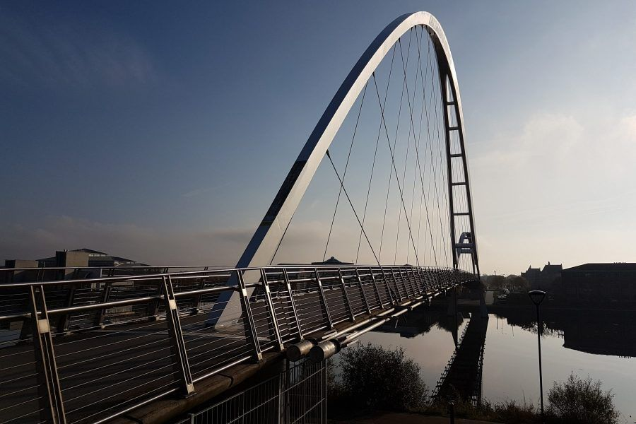 Stockton Infinity Bridge